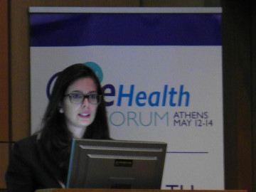 Elena Vio all'eHealth Forum